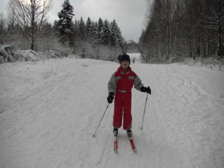 Du ski de fond dans les Ardennes
